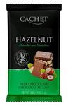 Премиум шоколад Cachet Hazelnut 32% молочный шоколад с фундуком 300гр. Бельгия
