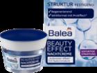 Balea Beauty Effect Nachtpflege - ночной крем с гиалуроновой кислотой (30+)(Германия)