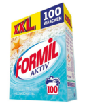 Стиральный порошок Formil Activ XXL Ocean Breaze 6,5 кг (100 стирок) - подходит для любых видов тканей (Германия)