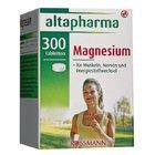 Витаминный комплекс Магний (Магнезиум) для функционирования энергетического обмена веществ и мышечной деятельности - Altapharma Magnesium, 300 таблеток (Германия)