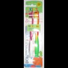 2 Зубные щетки для детей 3-6 лет на присоске - DM Dontodent Kids 3-6 Jahre (2 штуки) (Германия) 2 шт.