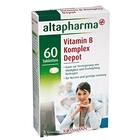 altapharma Vitamin B Komplex Depot + B2+B12 - Витаминный комплекс Витамин B, 60 таблеток, 15гр (Германия)