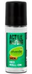 alverde active nature Men deo roll -Органический шариковый дезодорант для мужчин (Германия)