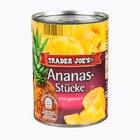 TRADER JOE'S Ananas-Stücke - ананас консервированный кусочками 580мл. (Германия)
