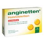 Anginetten Halstabletten zuckerfrei - сосательные леденцы-таблетки без сахара при боли и Воспалительных процессы в полости рта и глотки (Германия)