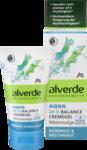 Aqua 24h Balance Cremegel Meeresalge - Органический крем-гель для лица alverde Aqua 24h Balance Meeresalge с экстрактом водорослей.  50 ml (Германия)