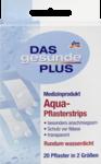 Das gesunde Plus Aqua-Pflasterstrips, 20 St -  пластырь для ран которые не должны намокнуть, 20 штук в 2 размерах. Без латекса.(Германия)
