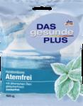 Dm Das gesunde plus Atemfrei Halsbonbons zuckerfrei 75гр - леденцы с ментолом и мятой перечной природных масел. 60 гр. Без сахара! (Германия)