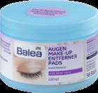 Balea Augen Make-up Entfernerpads olfrei - Салфетки  для снятия водостойкого макияжа с алоэ вера  (Германия)