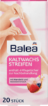 Balea Kaltwachsstreifen Korper, 20 St - Восковые полоски для мягкого удаления волос на теле 20штук (Германия)