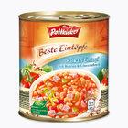 """POTTKIEKER Beste Eintopfe - Balkan-Eintopf mit weißen Bohnen und Schweinefleisch - густой суп """"по-балкански"""" с белыми бобами и свининой 800 мл (Германия)"""