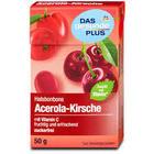 Dm Das gesunde plus Halsbonbons Acerola-Kirsche zuckerfrei - леденцы для горла с ацерола-черешня, без сахара, 50гр  с 19 травами (Германия)