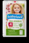 """Babylove nature Oko - Windeln """"№4 maxi"""" 7-18 kg - 34 штук - натуральные немецкие эко подгузники (Германия)"""