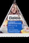 Balea 1 Minute Soforthilfe-Kur Pfirsich & Cocos - 1 минутная маска с экстрактом персик+кокос для сухих и поврежденных волос (Германия) 25 мл.