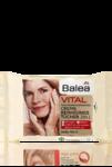 Balea Vital Creme Reinigungstucher 3 in 1 - мягко очищающие салфетки для очистки кожи лица и шеи 25 шт.  (45+) (Германия)