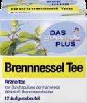 DAS gesunde PLUS Brennnessel Tee, 21 g -  Натуральный травяной чай из листьев Крапивы для очистки мочевыводящих путей + при ревматических жалобах. (Германия) 8 пакетиков