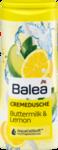 Крем - гель для душа Balea  Cremedusche Buttermilk & Lemon - сливки и лемон (Германия) 300 мл.