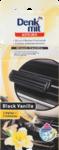 Denkmit Autodeo Black Vanilla, 2 St - автомобильный освежитель с ванильным ароматом до 6 недель!!!(1 держатель+2наполнителя) (Германия)