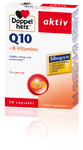 Витаминный комплекс с Коензимом Q10 + витаминами B, С, E, Zink, 30 капсул - DOPPELHERZ Coenzym Q10 + B-VITAMINS (B1+B2+B6+B12)+Vitamin C+Vitamin E (Германия)
