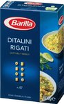 Макароны Barilla Ditalini Rigati №47 - Макаронные изделия 500гр (Италия)
