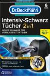 Dr. Beckmann  Farbtucher Intensiv-Schwarz 2in1, 6 St - Салфетки для обновления чёрного цвета и ткани 6шт.! ИНТЕНСИВНЫЙ ЧЁРНЫЙ ЦВЕТ И ГЛАДКАЯ ТКАНЬ - ДЛЯ ОДЕЖДЫ, ВЫГЛЯДЯЩЕЙ КАК НОВАЯ (Германия)