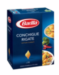 Макароны Barilla Conchiglie Rigate n.93 - Макаронные изделия 500гр (Италия)
