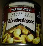 Trader Joes Erdnusse - орешки в жестяной банке 200гр. (Германия)