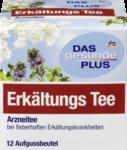 DAS gesunde PLUS Erkaltungs Tee, 24 g -  Натуральный травяной чай при простудах (Германия) 12 пакетиков