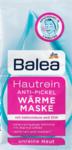Balea Soft & Clear Anti-Pickel Wärme Maske Противовоспалительная горячая маска с салициловой кислотой и цинком с антибактериальным эффектом (Германия) 2 шт х 8 мл.