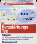 DAS gesunde PLUS Herzstarkungs Tee, 21,6 g -  Натуральный травяной чай для сердечной области (Германия) 12 пакетиков