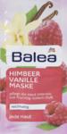 Balea Himbeer Vanille Maske, 2 x 8 ml, 16 ml - успокаивающая и увлажняющая маска с миндальным маслом и маслом ши (Германия)