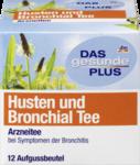 DAS gesunde PLUS Husten und Bronchial Tee, 24 g -  Натуральный травяной чай при бронхите (Германия) 12 пакетиков