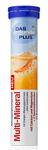Витаминные шипучие таблетки Мультиминерал, содержит основные  минералы ( Кальций, магний, цинк, марганец, селен. медь, молибден, хром) - Das gesunde Plus Multi-Mineral 20шт. (Германия)
