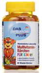 Витаминный комплекс мишки (медведи) Multivitamin - Das gesunde Plus Barchen fur kinder, 60 шт. (Германия)