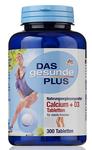 Витаминный комплекс для здоровых костей и хрящей - кальций + витамин D3, Das gesunde Plus Calcium + D3, 300 шт. (Германия)   Курс на 3 месяца!!!