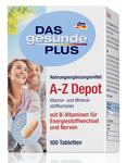 Витаминный комплекс A-Z Depot с 22 важными витаминами, минеральными веществами и микроэлементами, лютеином. (Германия)100 шт.