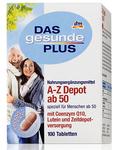 Витаминный комплекс A-Z Depot ab 50 - для людей старшей возрасной категории старше 50 лет (24 витамина и минерала)  (Германия) 100 шт.