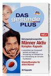 Витаминный активный комплекс для мужчин Manner Aktiv Komplex - улучшает энергетический обмен и способствуют снижению усталости, цинк способствует обновлению клеток кожи и выработке тестостерона. (Германия) 30 капсул