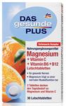 Витаминный комплекс Магнезиум -  Magnesium + Витамин С + Витамин B6 + B12 (Германия) 30 рассасыв. табл.