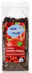 Чай Das gesunde Plus Cranberry-Erdbeere Früchtetee клубника+клюква (Германия) 200 гр.