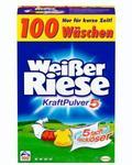 Weißer Riese Kraft Pulver, универсальный (Германия) universal 5,5 кг (100 стирок)