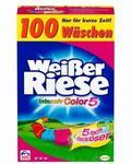 Weißer Riese Intensiv Color 5 Pulver, 100 WL для цветных вещей (Германия) Color 5,5 кг (100 стирок)