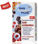Das gesunde Plus Antioxidantien Биологически активная добавка к питанию Антиаксидант - содержит натуральные фруктовые экстракты из пяти супер фруктов. (Германия) 30 капсул