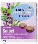 Dm Das gesunde plus Salbei Bonbons - леденцы для горла с ценными экстрактами и эфирными маслами шалфея с витамином С. (Германия)  50 гр.