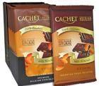 Премиум шоколад Cachet 53% Dark Chocolate with Almonds - темный с миндалем, 300гр. Бельгия