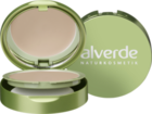 "alverde NATURKOSMETIK Kompakt Make-up honig-gold 020, 9g - натуральная косметика, компактный макияж, цвет ""honig-gold 020""  (Германия)"