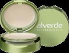 """alverde NATURKOSMETIK Kompakt Make-up light-beige 010, 9 g - натуральная косметика, компактный макияж, цвет """"light-beige 010""""  (Германия)"""