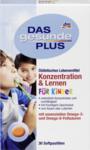 Витаминный комплекс Концентрация и учёба для детей c Omega-3- и Omega-6 кислотами - Das gesunde Plus Konzentration & Lernen fur kinder, 30 пастилок (Германия)