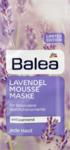 Balea Lavendelmousse Maske, 2 x 8 ml, 16 ml - успокаивает и восстанавливает кожу с миндальным маслом и маслом Ши 2*8мл (Германия)