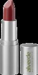 "alverde NATURKOSMETIK Lippenstift Color & Care - Cherry 53 - натуральная косметика, губная помада с блеском 4,7 гр, цвет ""Cherry 53""  (Германия)"